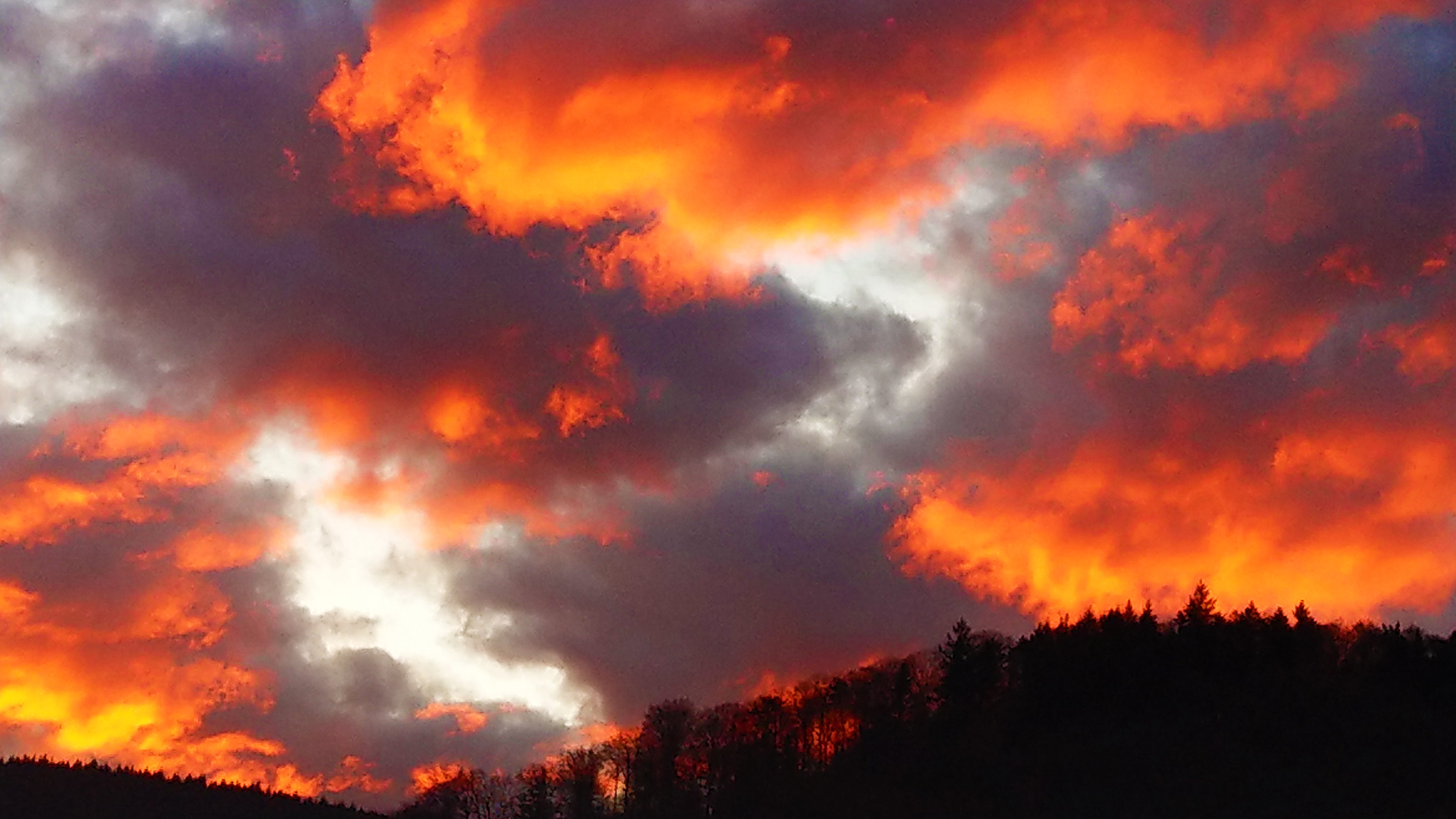 Sky is burning -